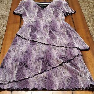 Beautiful purple dress size 3/4